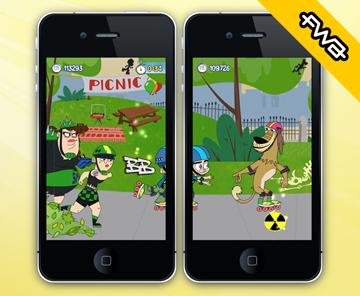 Roller Jonny iOS game