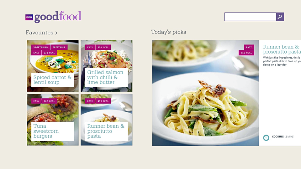 Bbc goodfood app suite sanjay mistry digital designer original bbc goodfood app suite forumfinder Choice Image